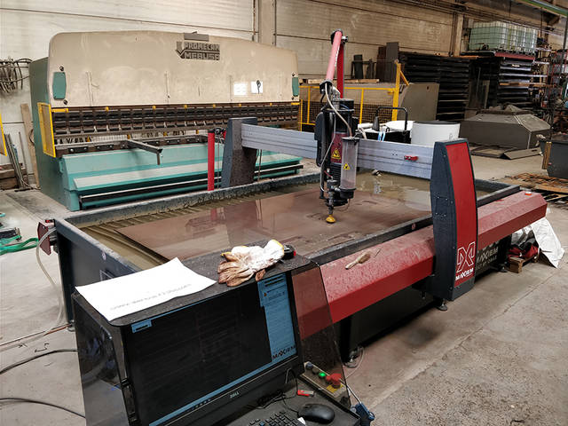 Inside industrial plant 2: sheet cutting and forming