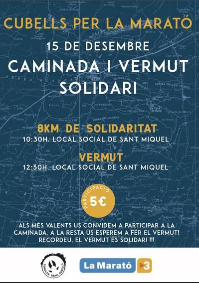Caminada i Vermut solidari