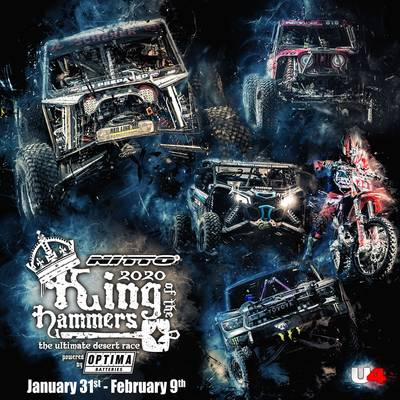 The Nitto Tires King of the Hammers 2020