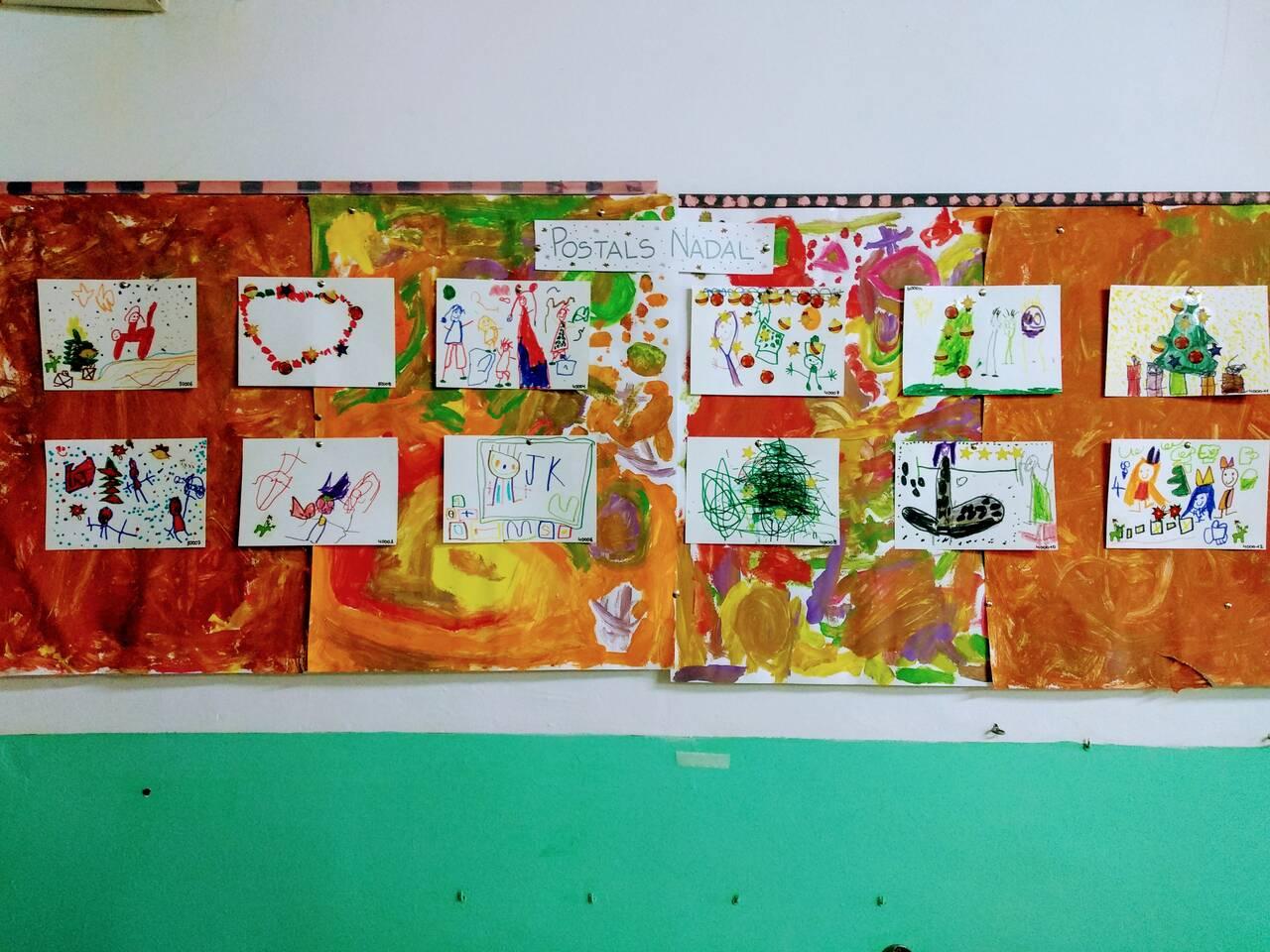 Postals de nadal aula 4 anys