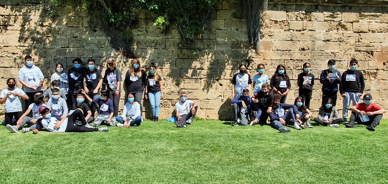 1r d'ESO participa a la cursa solidària Balears - Anantapur