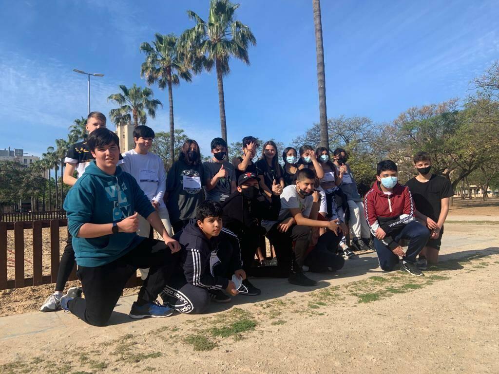2n d'ESO participa a la cursa solidària Balears - Anantapur