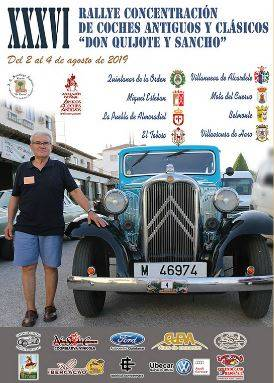 XXXVI RALLYE CONCENTRATION OF ANCIENT AND CLASSIC CARS DON QUIJOTE AND SANCHO