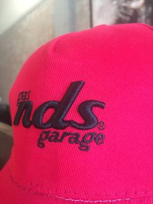 NDS Cap Embroidery in 3 Dimensions