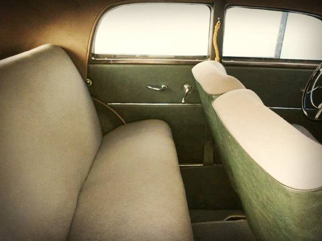 Interior upholstery, seats, side panels, dashboard,