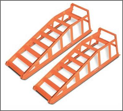 SOLDIER STEEL ELEVATOR RAMP, 2 PIECE SET.