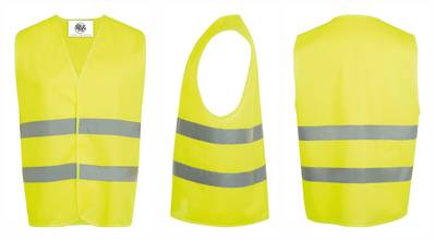 10 Reflective Safety Vests - Unisex