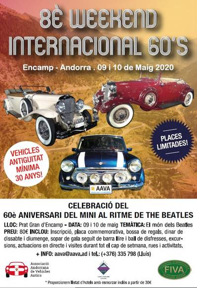 8 Weekend International 60's
