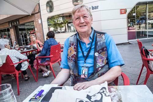 """<p style=""""font-weight: 400;"""">Xavier-Daniel (director i programador del FICGLB). Foto: Oriol C&aacute;rceles</p>"""