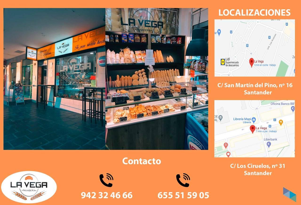 """""""Soon our delicious donuts and torrijas will arrive"""" Panadería La Vega [2]"""