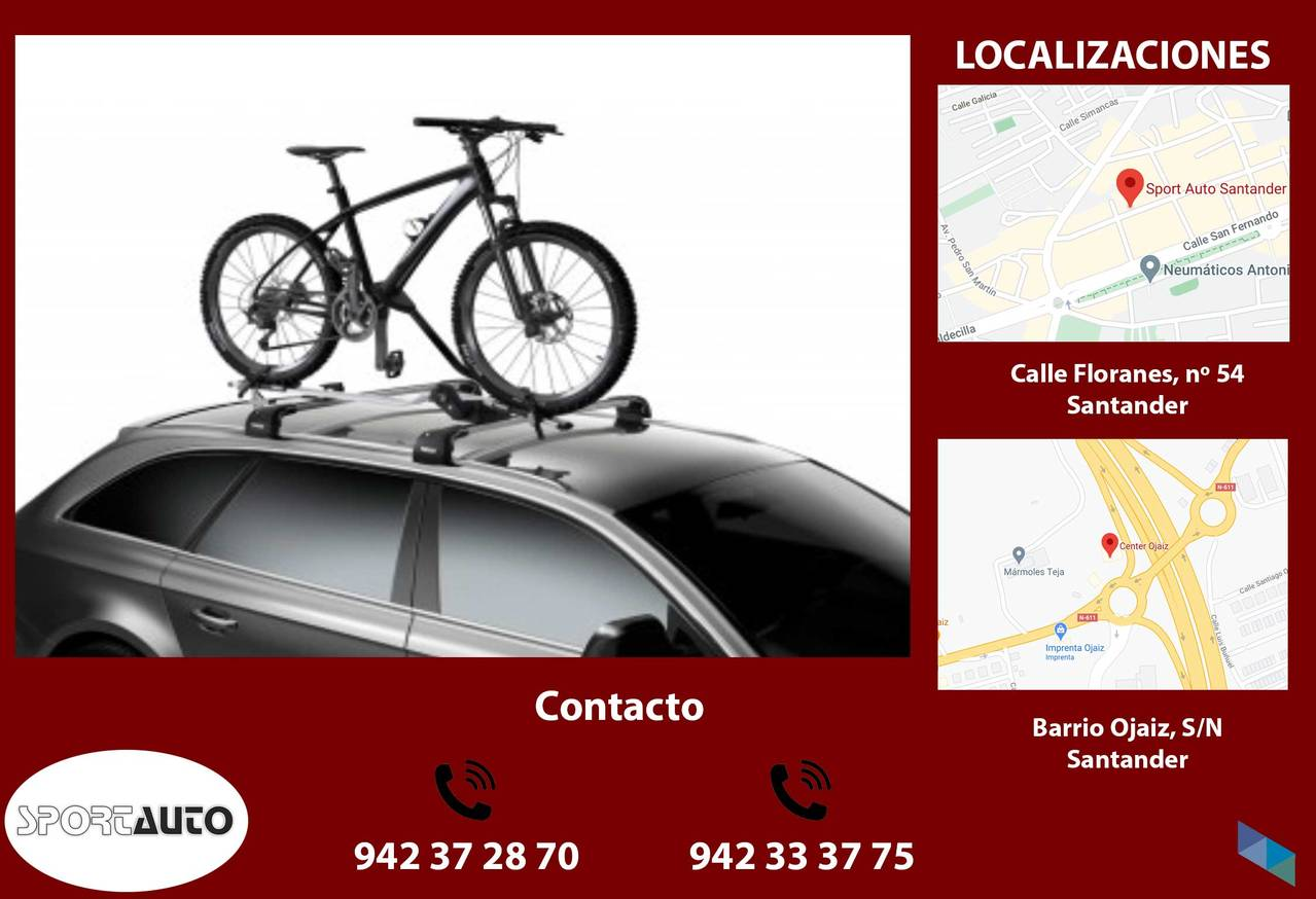 """Thule ProRide Roof Rack"" Sport-Auto [2] [2] [2] [2] [2]"