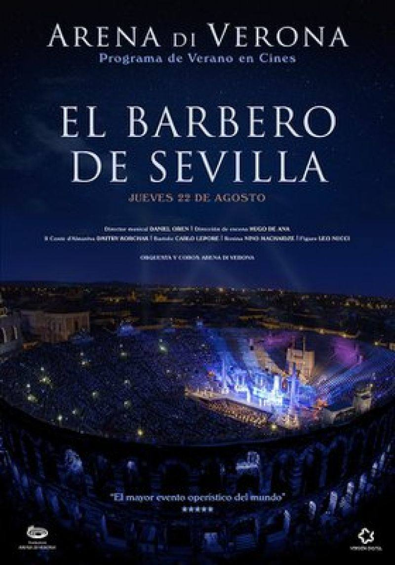 """The Barber of Seville"", delayed from the Arena di Verona Theater (Cinema)"