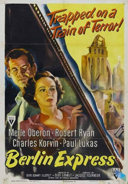 """Berlin Express"", de Jacques Tourneur (V.O.S) (Cine)"