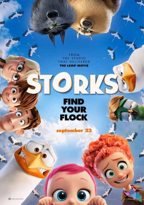 """Storks"", by Doug Sweetland and Nicholas Stoller (Cinema)"