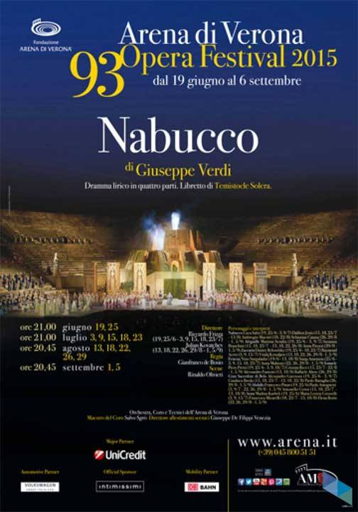 """Nabuco"", delayed from the Arena di Verona Theater (Cinema)"