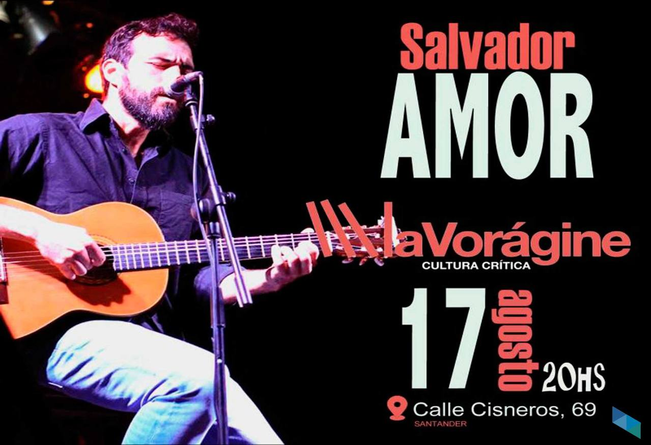 Salvador Amor im Konzert