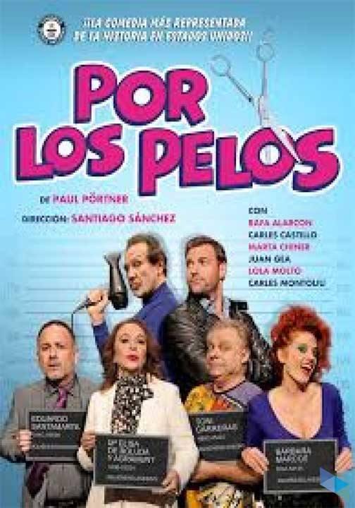 """""""Por los pelos"""", by Paul Pörtner (Theater)"""