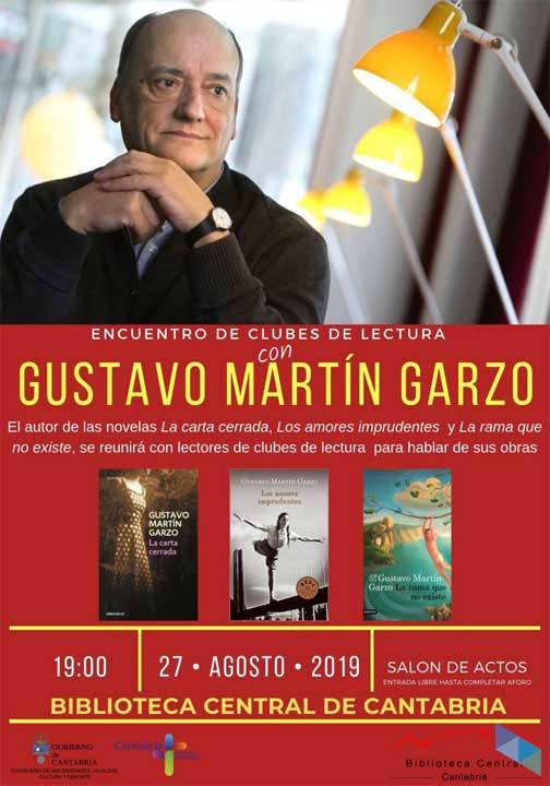Meeting with Gustavo Martín Garzo (Literature)
