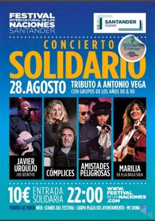 Tribute to Antonio Vega. Solidarity concert (Music)