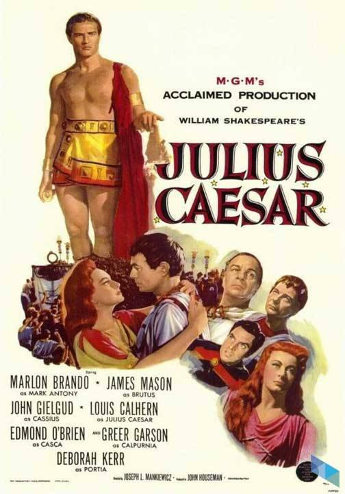 """Julius Caesar"", von Joseph L. Mankiewicz (VOS) (Kino)"