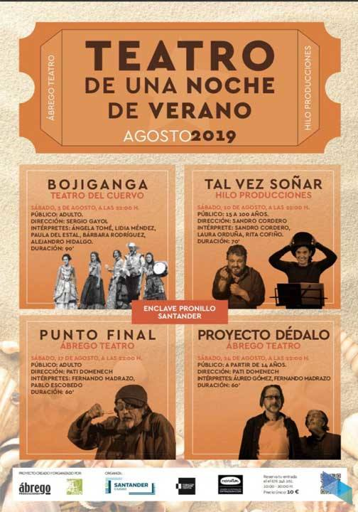 """Proyecto Dédalo"" de Ábrego Teatro"