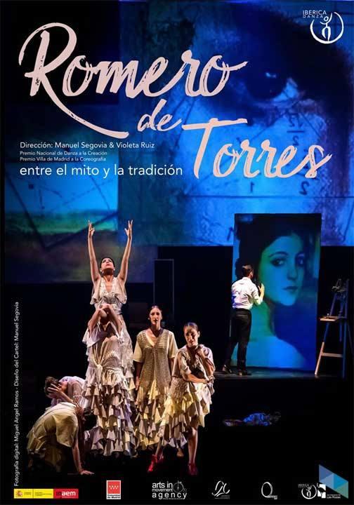 """""""Romero de Torres"""", Iberische Tanzkompanie"""