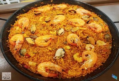 """Enjoy our delicious Paella every Saturday"" Restaurant Tal Qué"