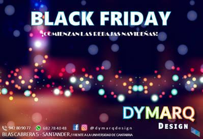 """Black Friday; come visit us"" Dymarq Design"