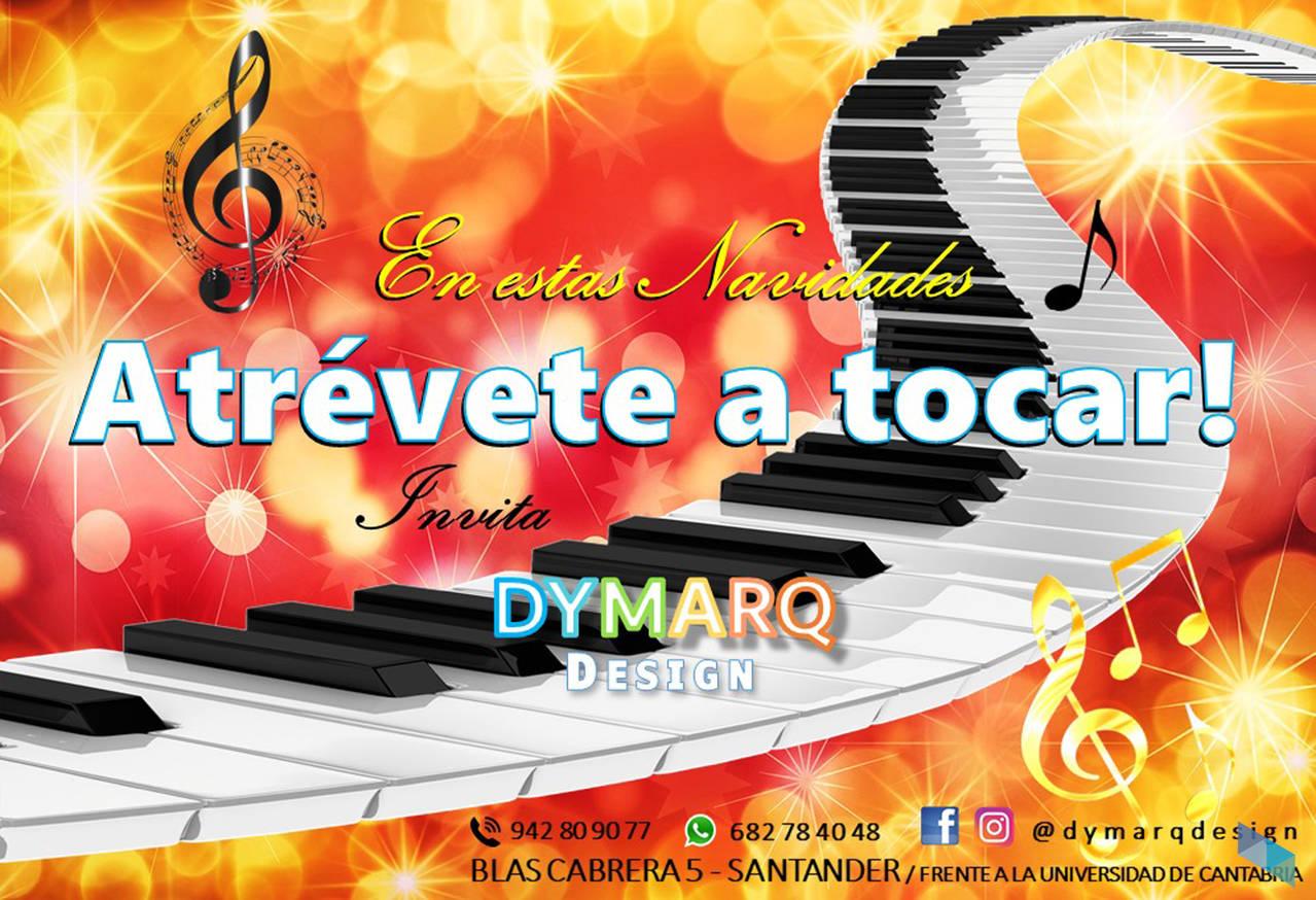 """This Christmas dare to play; invite"" Dymarq Design"