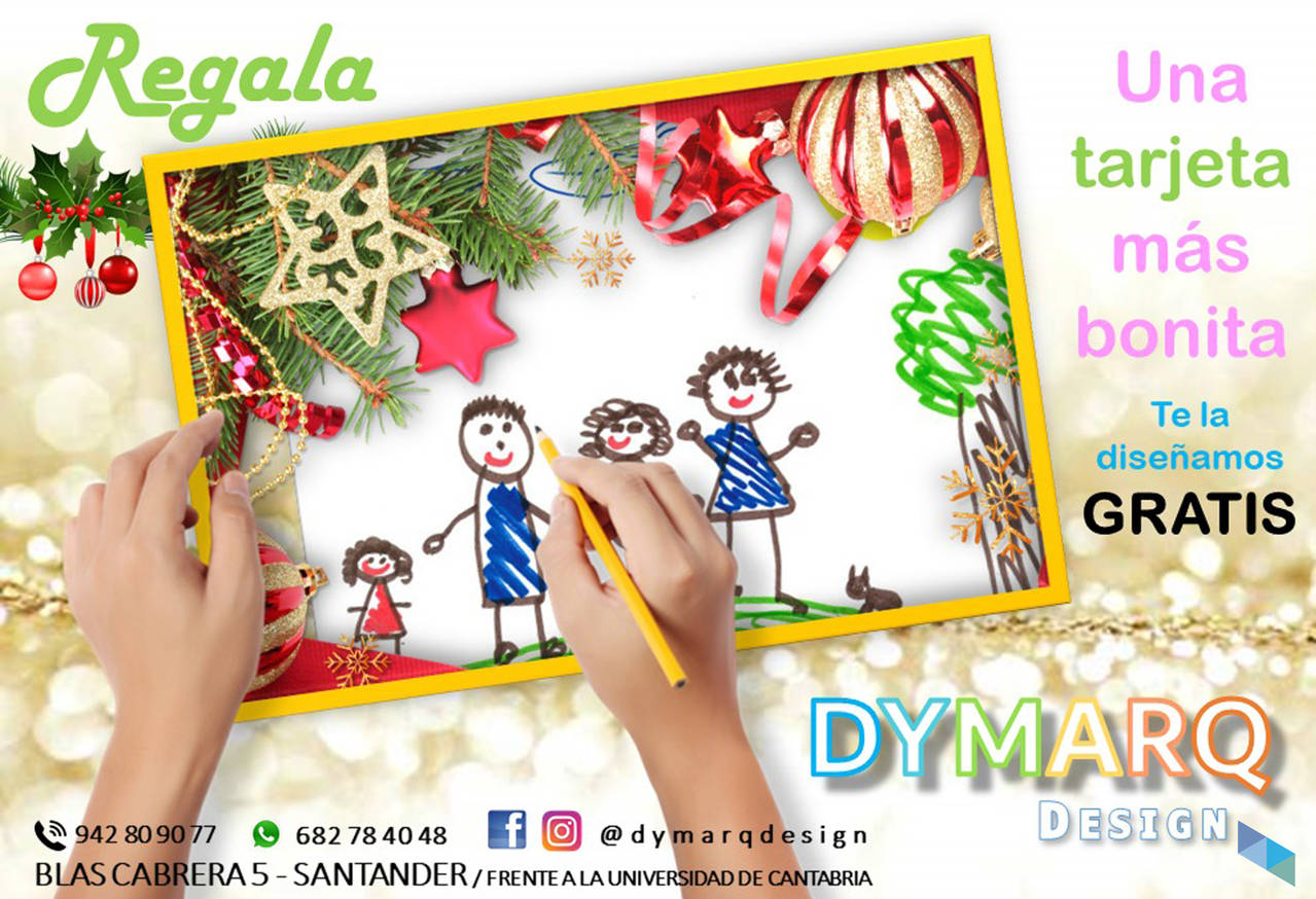 """Give a prettier card; we design it for free"" Dymarq Desing"