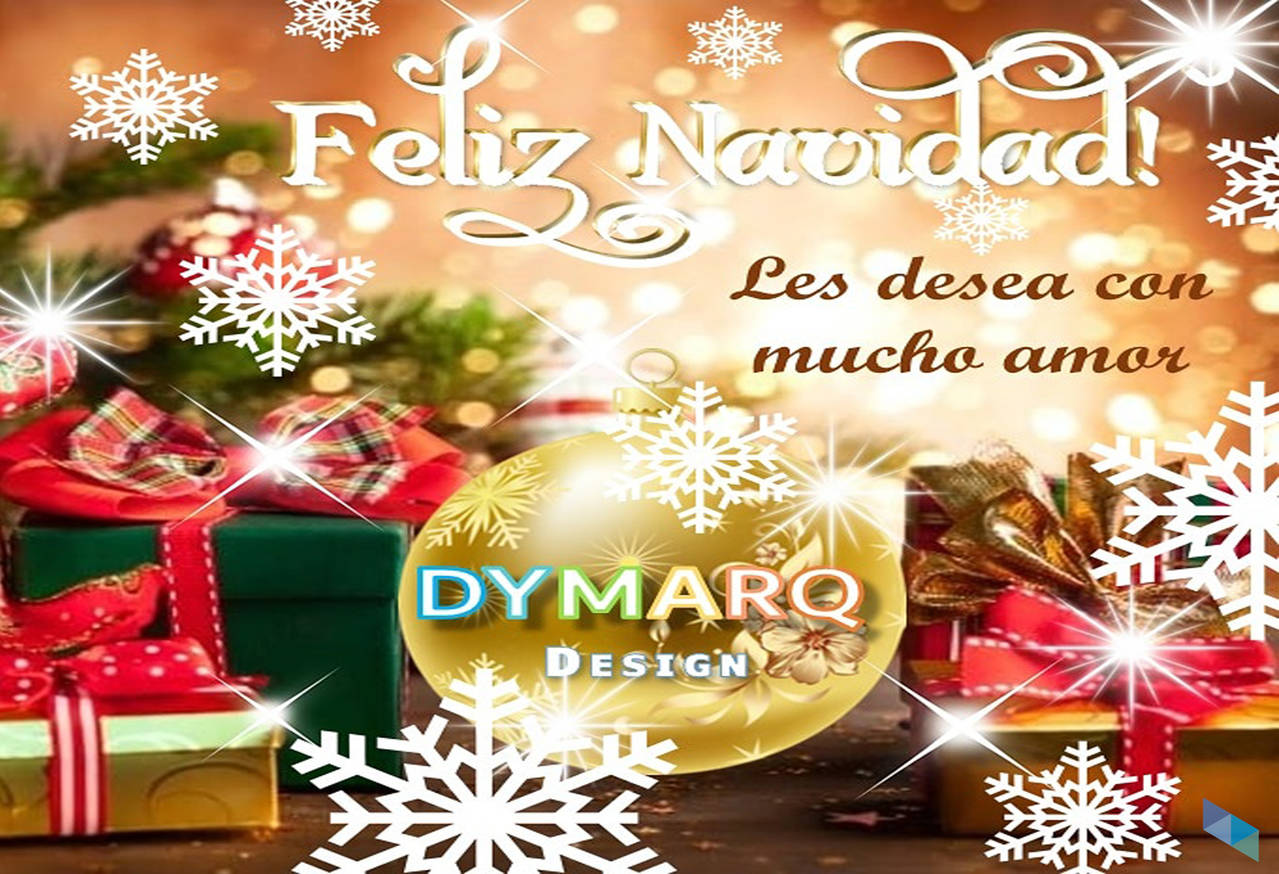 """Merry Christmas with lots of love"" Dymarq Design"