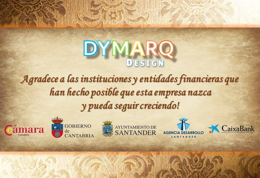 """Our most sincere thanks"" Dymarq Design"