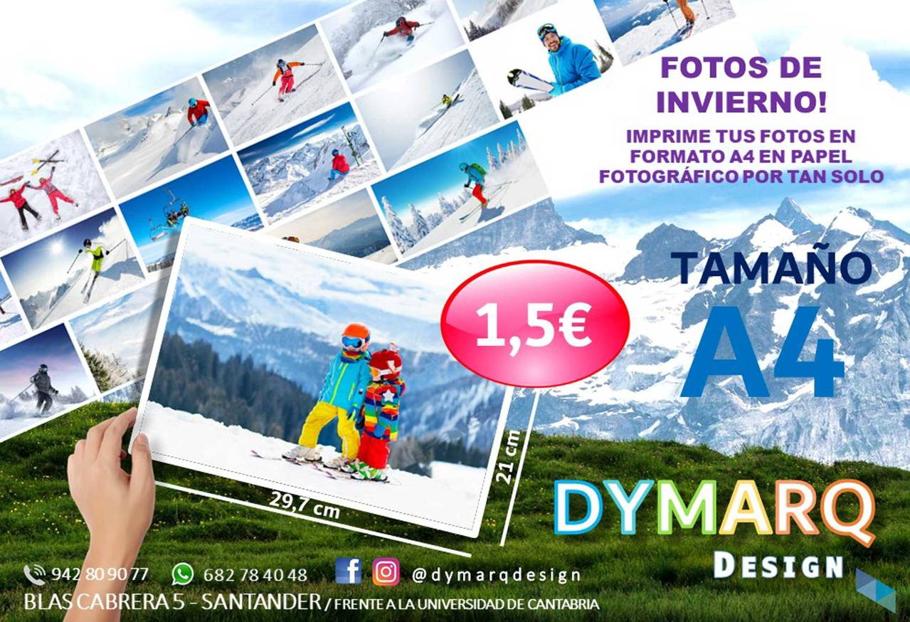 """Print your CHRISTMAS photographs with us"" Dymarq Design"