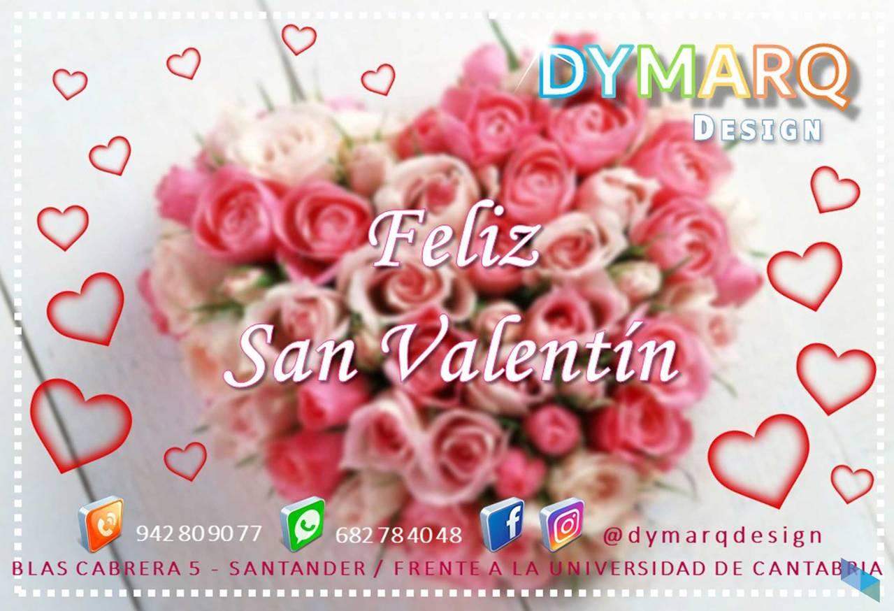 """Happy Valentines Day"" Dymarq Design"