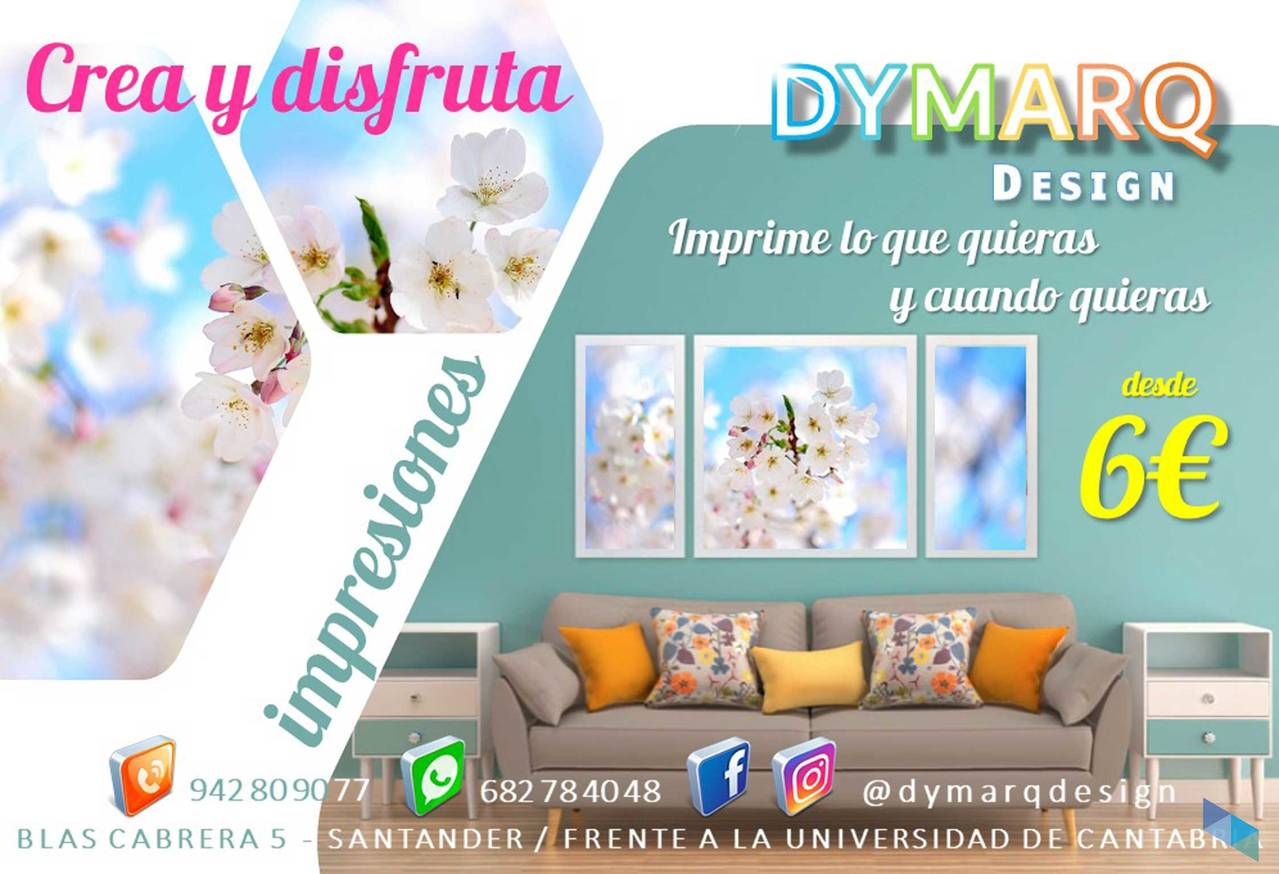 """Print what you want and when you want"" Dymarq Design"