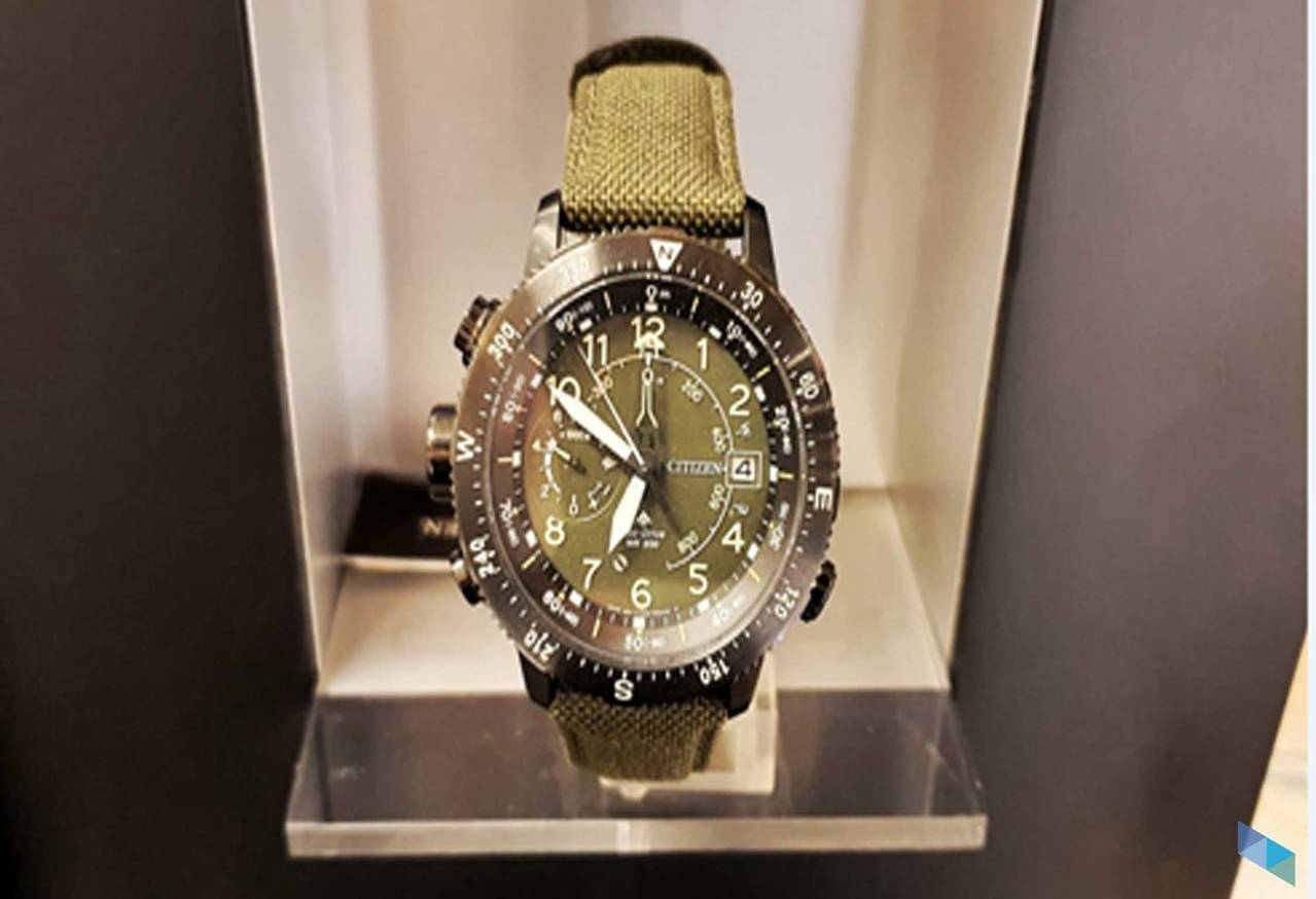 "¨ ""Citizen watch with Eco Drive movement"""
