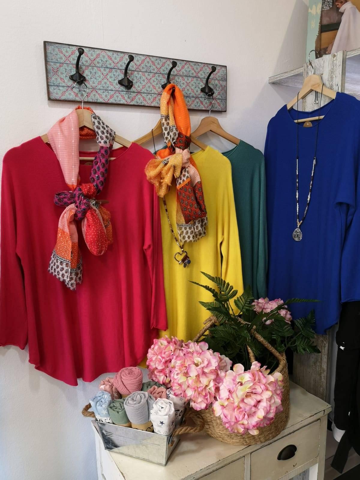 """Knitted sweater"" Turqueta"