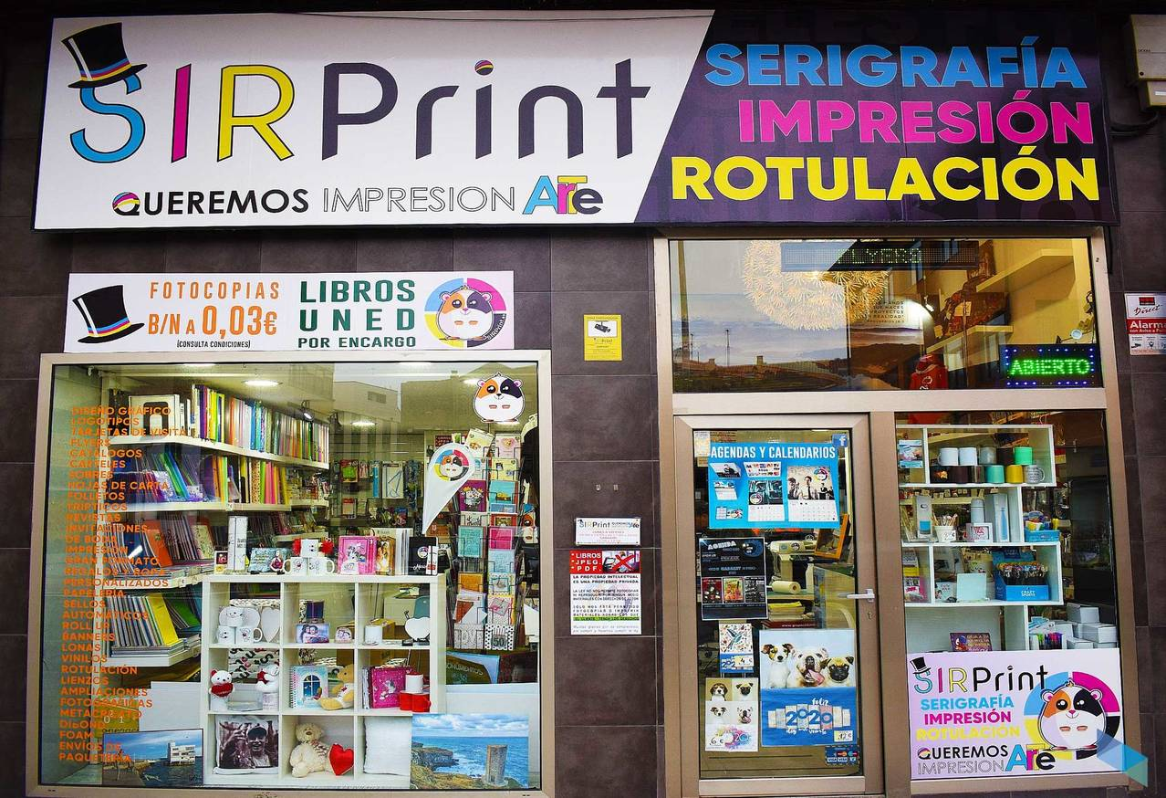 """We make your ideas come true"" Sir Print"