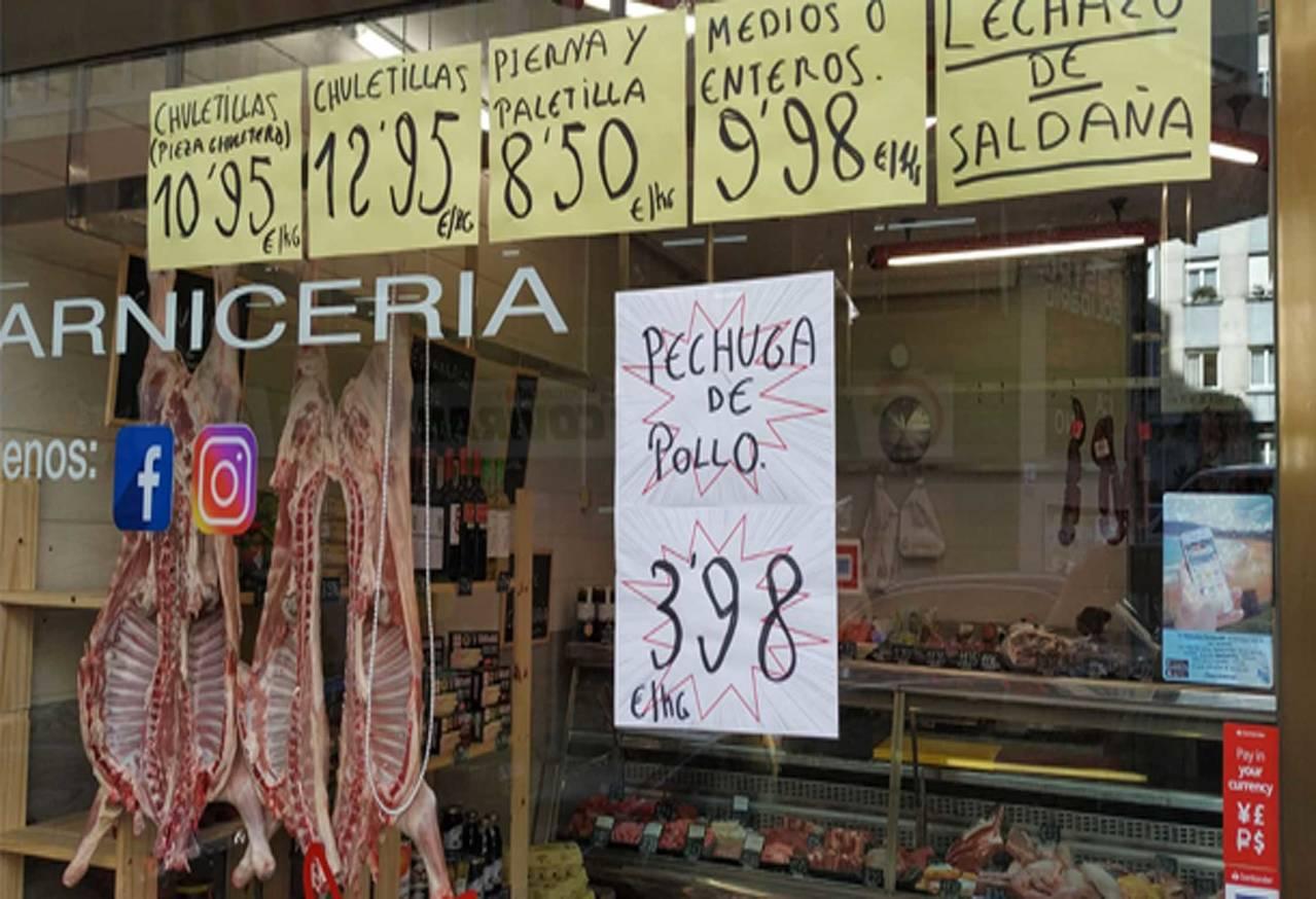 """""""Lechazo de Saldaña"""" Carnicería Carlos"""