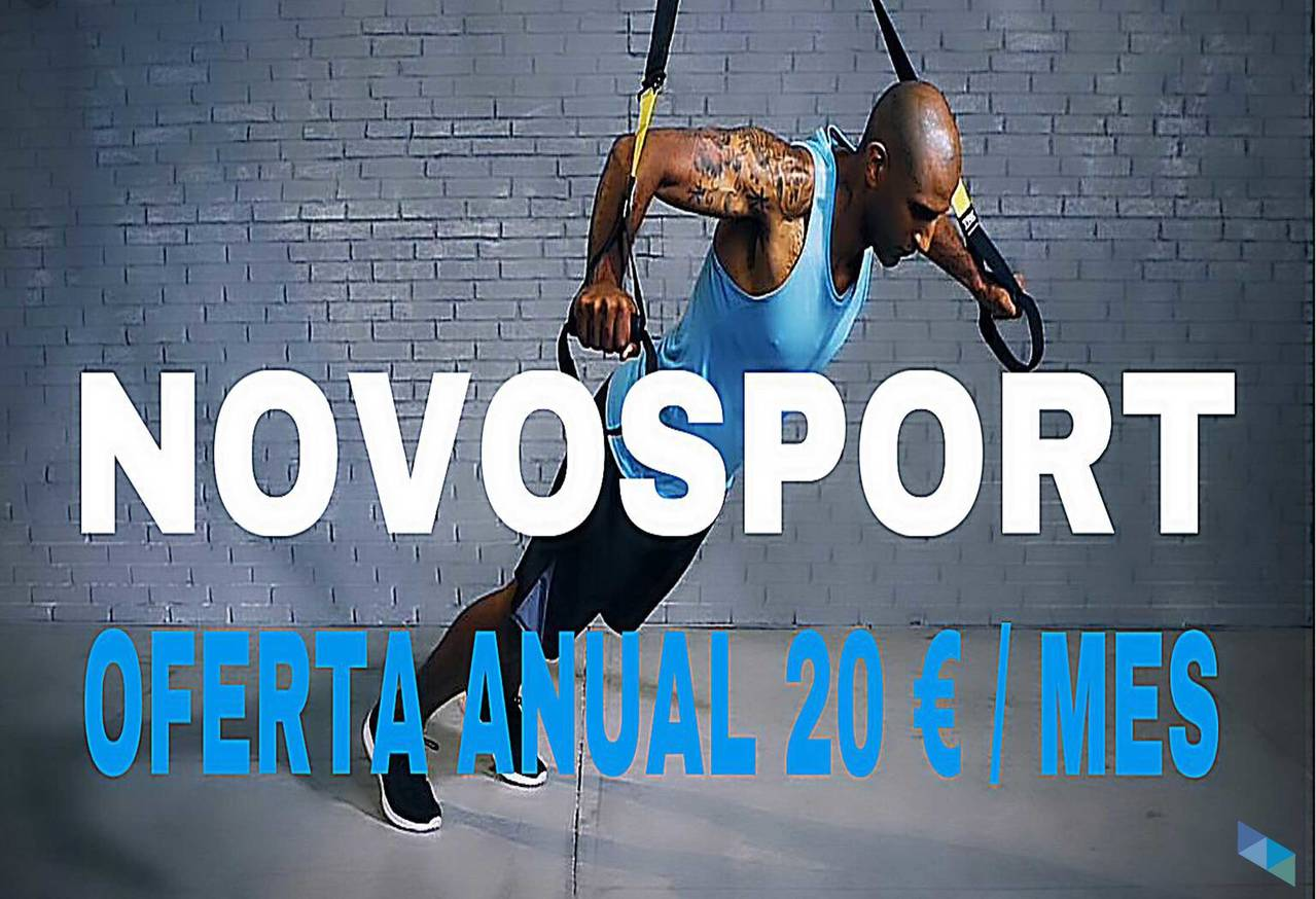 The best offer of the whole year! NovoSport