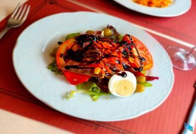 """""""Menú especial de Domingo"""" Cafetería La Palma"""