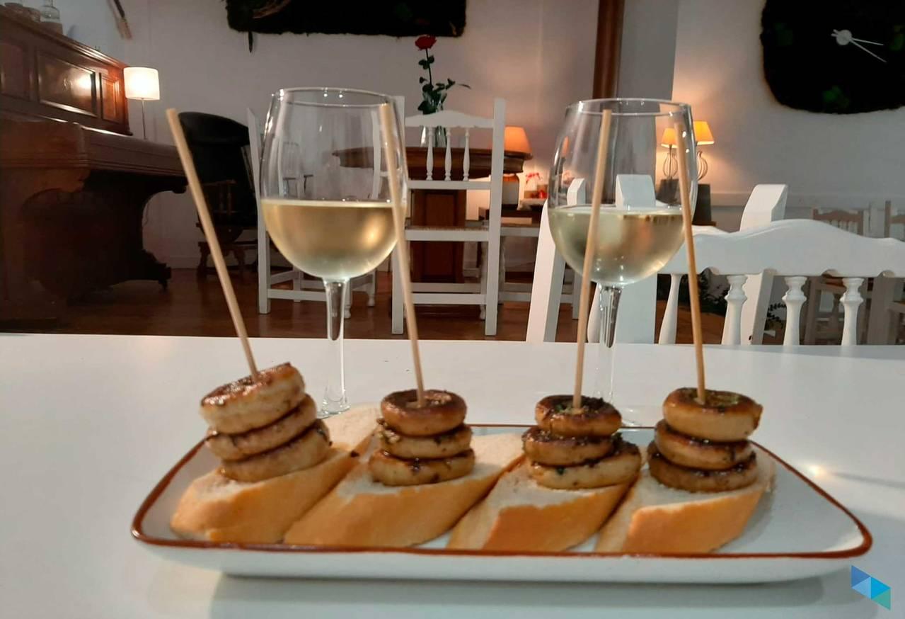 """""""Champiñones a la plancha"""" Restaurante Tal Cual"""