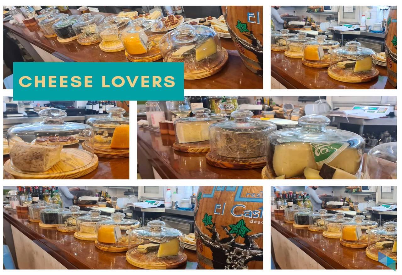 """""""Cheese lovers"""" Restaurante El Castellano"""