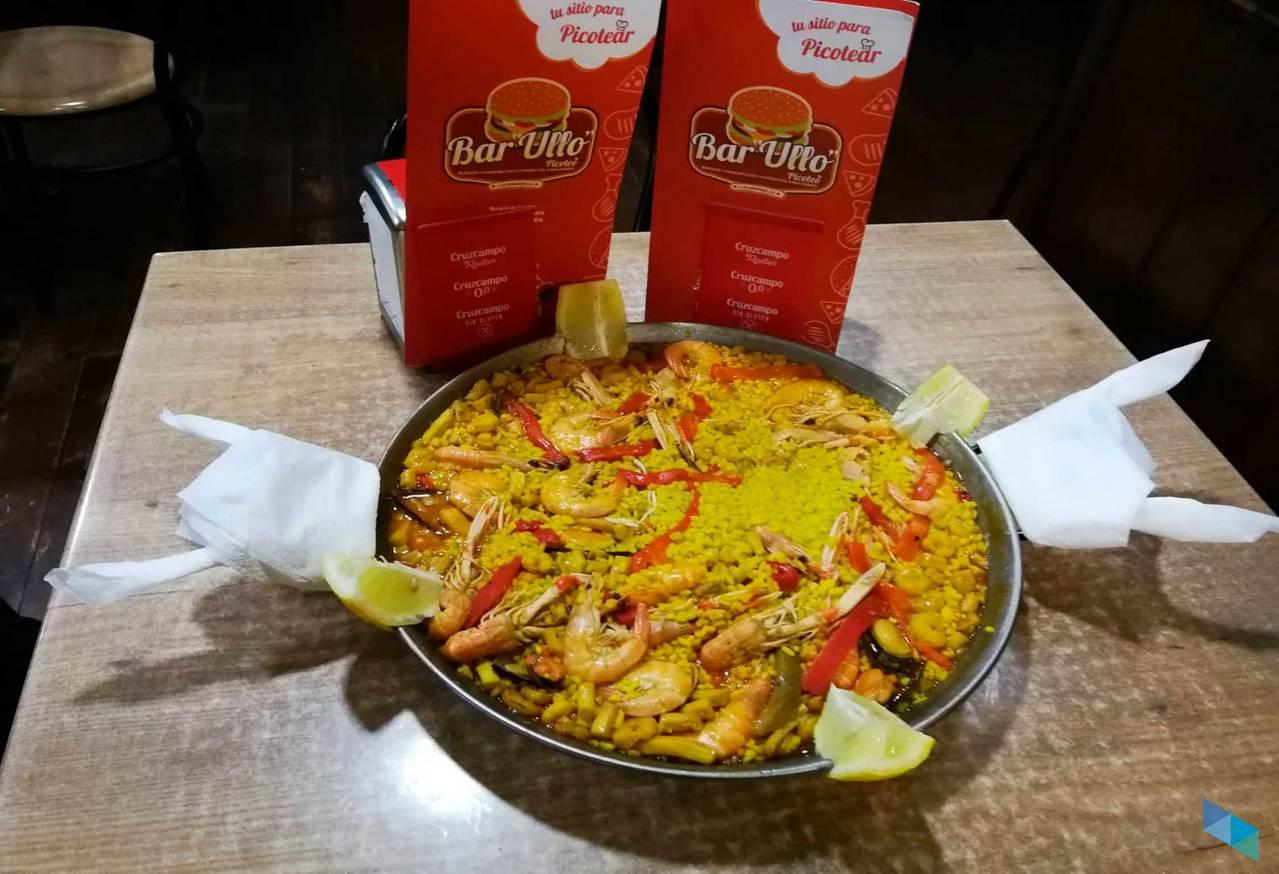 """Disfruta de nuestra increíble paella - Bar """"Ullo"""""""