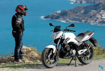 """RIEJU STRADA 125, free insurance 1 year and helmet"" Motos Titin"