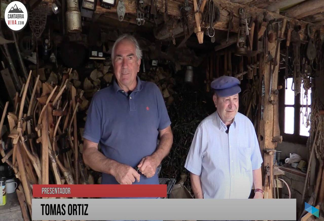 Episodio 8: Silió - Elaboración de horcas con el artesano de la madera Ignacio Saiz
