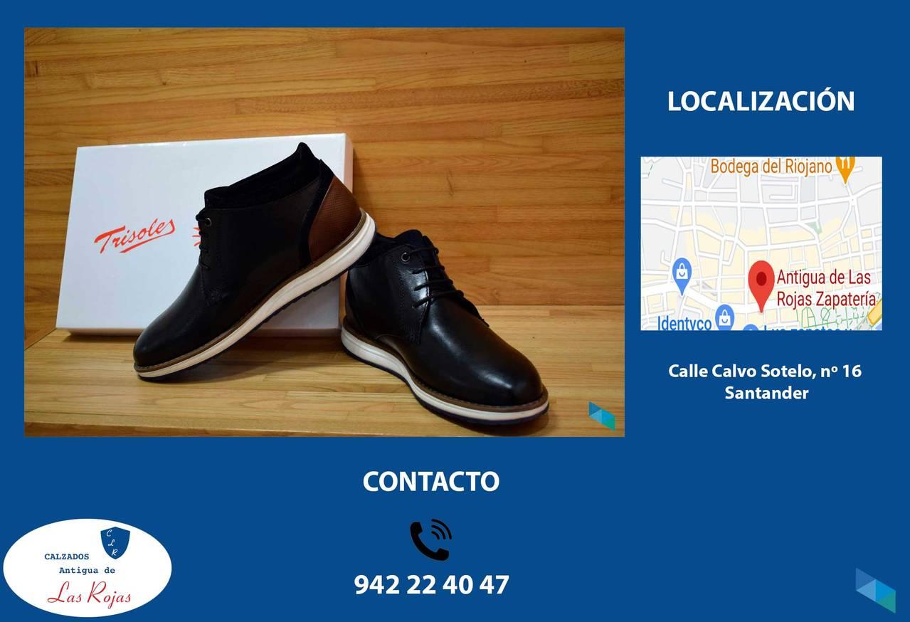 """""""High quality men's shoes"""" Calzados Antigua Las Rojas"""
