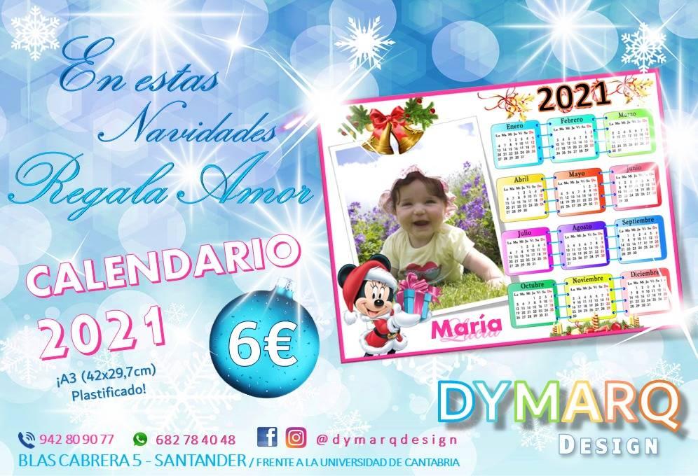 """Christmas calendar"" Dymarq Design"