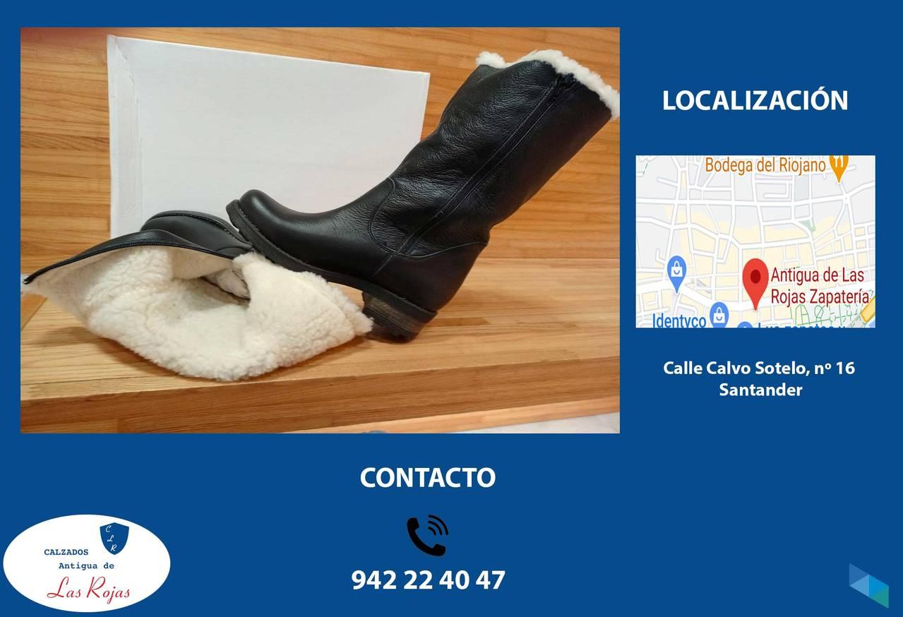 """Women's wool boot"" Calzados Antigua Las Rojas"