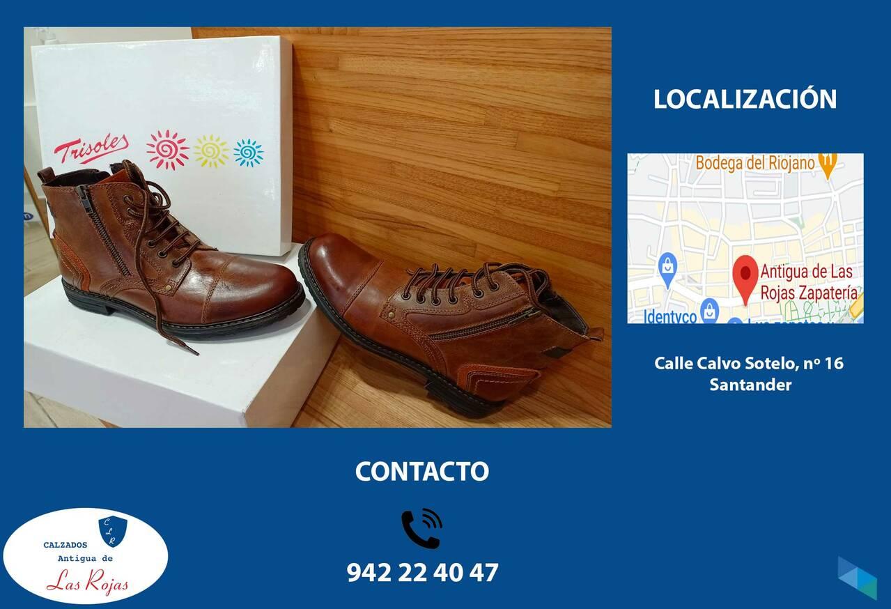 """Men's boot"" Calzados Antigua Las Rojas"